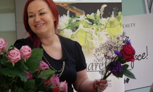 Pokazy Florystyczne w Galerii Amber w Kaliszu